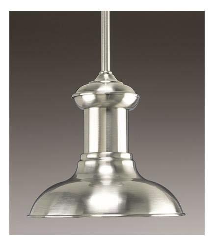 Progress Lighting P5023 09 1 Light Mini Pendant Brushed Nickel 0 2