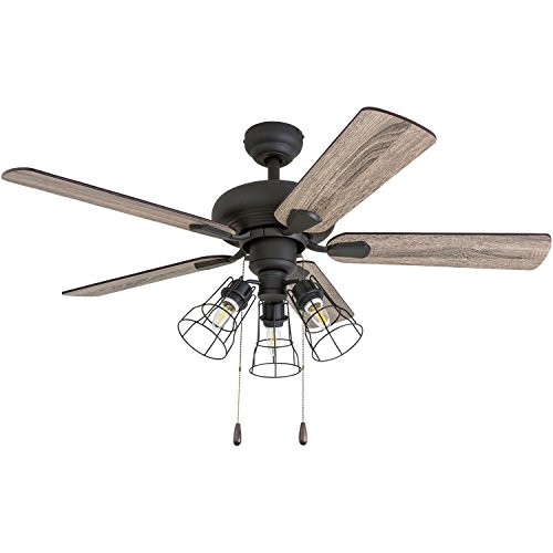 Prominence Home 50588 01 Madison County Industrial Ceiling Fan 42 BarnwoodTumbleweed Aged Bronze 0