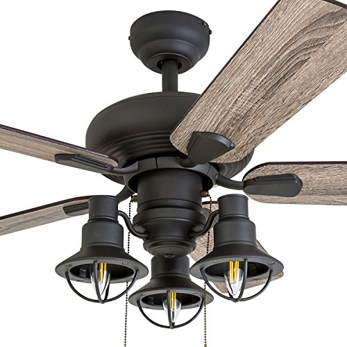 Prominence Home 50652 01 Piercy Coastal Ceiling Fan 42 BarnwoodTumbleweed Aged Bronze 0 0