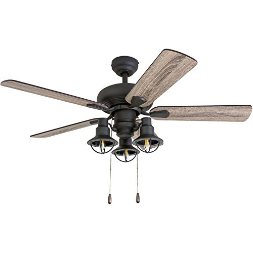 Prominence Home 50652 01 Piercy Coastal Ceiling Fan 42 BarnwoodTumbleweed Aged Bronze 0