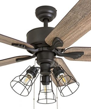 Prominence Home 50684 01 Aspen Pines Farmhouse Ceiling Fan 3 Speed Remote 52 BarnwoodTumbleweed Aged Bronze 0 0 300x360