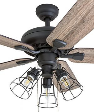 Prominence Home 50745 01 Lincoln Woods Farmhouse Ceiling Fan 3 Speed Remote 52 BarnwoodTumbleweed Aged Bronze 0 0 300x360