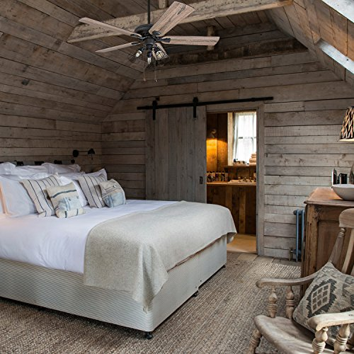 Prominence Home 50745 01 Lincoln Woods Farmhouse Ceiling Fan 3 Speed Remote 52 BarnwoodTumbleweed Aged Bronze 0 2