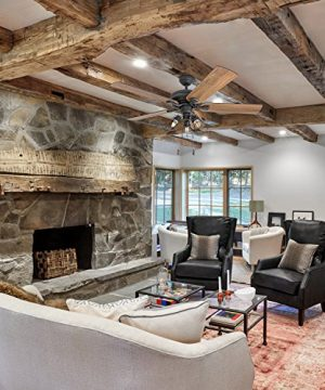 Prominence Home 50745 01 Lincoln Woods Farmhouse Ceiling Fan 3 Speed Remote 52 BarnwoodTumbleweed Aged Bronze 0 3 300x360