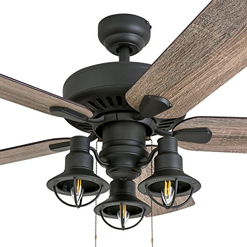 Prominence Home 50756 01 Ennora Farmhouse Ceiling Fan 3 Speed Remote 52 Barnwood Tumbleweed Aged Bronze Farmhouse Goals