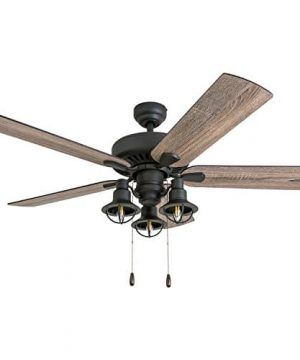 Prominence Home 50756 01 Ennora Farmhouse Ceiling Fan 3 Speed Remote 52 BarnwoodTumbleweed Aged Bronze 0 300x360