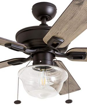 Prominence Home 80091 01 Abner Vintage IndoorOutdoor Ceiling Fan ETL Damp Rated 52 LED Schoolhouse Edison Bulb Rustic FarmhouseBarnwood Blades Espresso Bronze 0 1 300x360