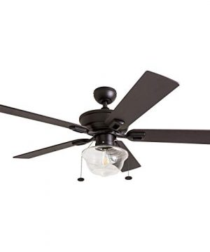 Prominence Home 80091 01 Abner Vintage IndoorOutdoor Ceiling Fan ETL Damp Rated 52 LED Schoolhouse Edison Bulb Rustic FarmhouseBarnwood Blades Espresso Bronze 0 2 300x360