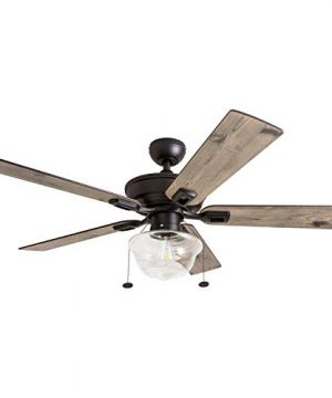 Prominence Home 80091 01 Abner Vintage IndoorOutdoor Ceiling Fan ETL Damp Rated 52 LED Schoolhouse Edison Bulb Rustic FarmhouseBarnwood Blades Espresso Bronze 0 300x360