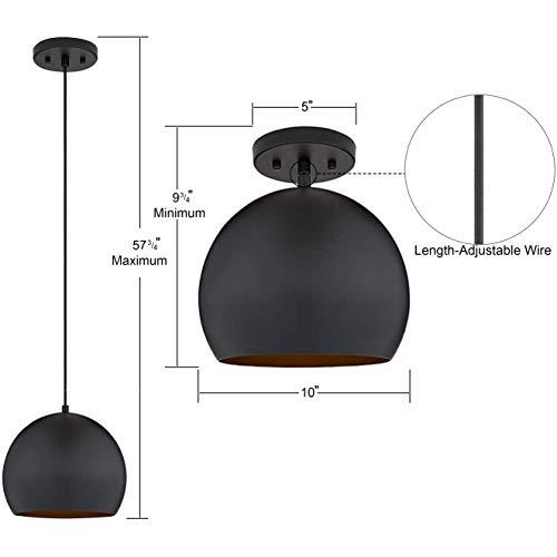 Rollino Pendant Light Black Pendant Lighting For Kitchen Island LL P408 5BLK 0 1