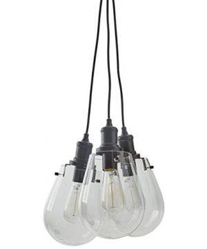 Stone Beam Melissa Triple Pendant With Bulbs 135 625H Black 0 300x360