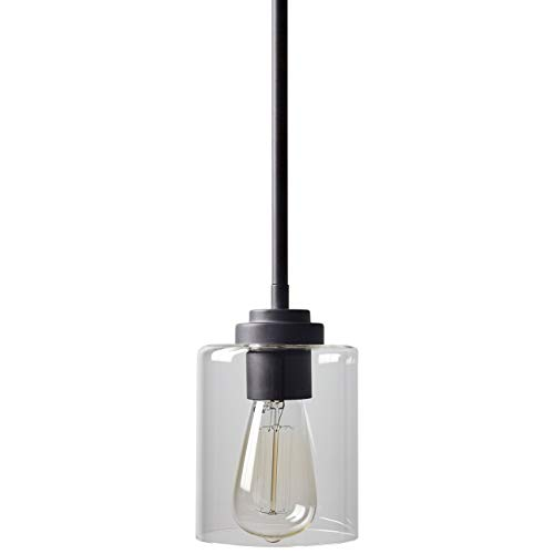 Stone Beam Modern Cylinder Pendant Light With Bulb 10 58H Oil Rubbed Bronze 0