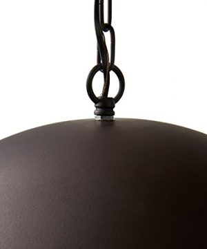 Stone Beam Modern Dome Pendant Light With Bulb 1125 60H Oil Rubbed Bronze 0 3 300x360
