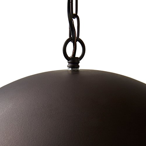 Stone Beam Modern Dome Pendant Light With Bulb 1125 60H Oil Rubbed Bronze 0 3