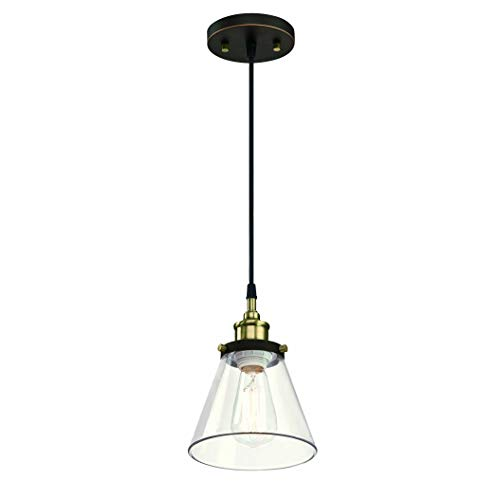 Nickel Finish Hanging Lights with One Medium Base Max 60 Watts WISBEAM Pendant Lighting Fixture Bulbs not Included ETL Rated 2-Pack