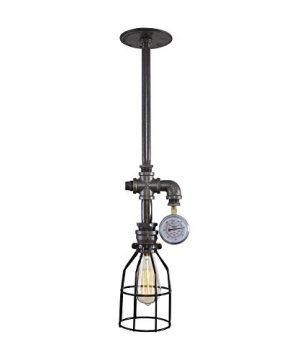 West Ninth Vintage Long Pendant Iron Ceiling Light Gauge 0 300x360