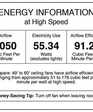 Westinghouse Lighting 7204300 IndoorOutdoor Ceiling Fan 52 Oil Rubbed Bronze Finish 0 0 300x360