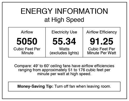 Westinghouse Lighting 7204300 IndoorOutdoor Ceiling Fan 52 Oil Rubbed Bronze Finish 0 0