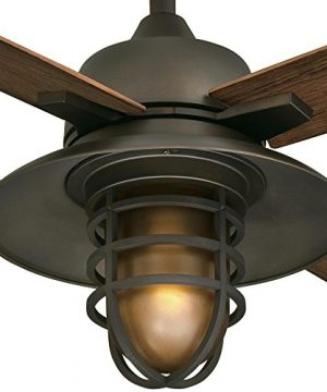Westinghouse Lighting 7204300 IndoorOutdoor Ceiling Fan 52 Oil Rubbed Bronze Finish 0 1 300x360