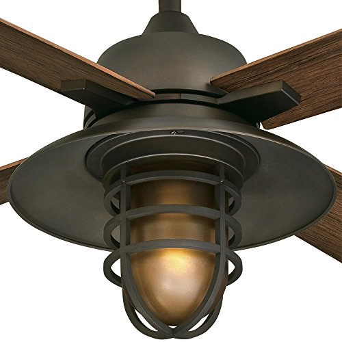 Westinghouse Lighting 7204300 IndoorOutdoor Ceiling Fan 52 Oil Rubbed Bronze Finish 0 1