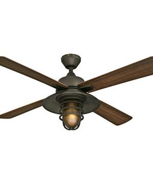 Westinghouse Lighting 7204300 IndoorOutdoor Ceiling Fan 52 Oil Rubbed Bronze Finish 0 300x360