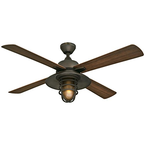Westinghouse Lighting 7204300 IndoorOutdoor Ceiling Fan 52 Oil Rubbed Bronze Finish 0