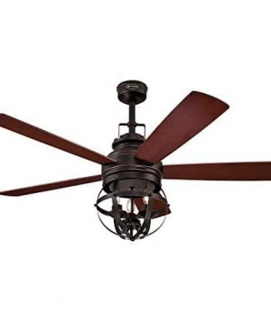 Westinghouse Lighting 7217100 Stella Mira 52 Inch Vintage Ceiling Fan Reversible Blades Oil Rubbed Bronze Finish 0 0 300x360