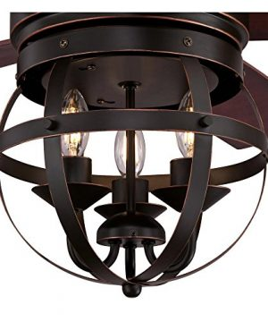 Westinghouse Lighting 7217100 Stella Mira 52 Inch Vintage Ceiling Fan Reversible Blades Oil Rubbed Bronze Finish 0 3 300x360