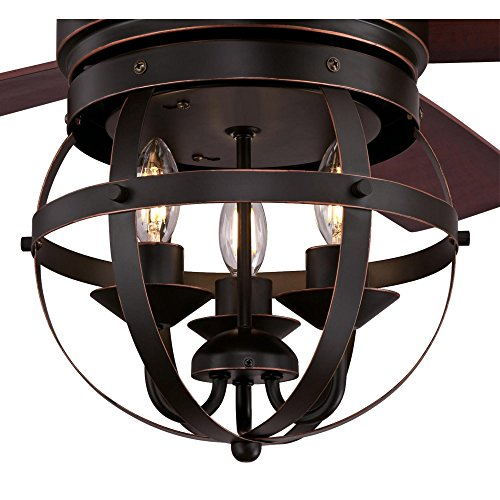 Westinghouse Lighting 7217100 Stella Mira 52 Inch Vintage Ceiling Fan Reversible Blades Oil Rubbed Bronze Finish 0 3