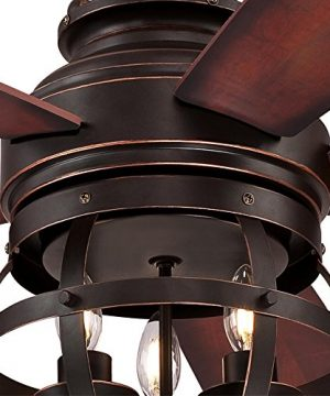 Westinghouse Lighting 7217100 Stella Mira 52 Inch Vintage Ceiling Fan Reversible Blades Oil Rubbed Bronze Finish 0 4 300x360