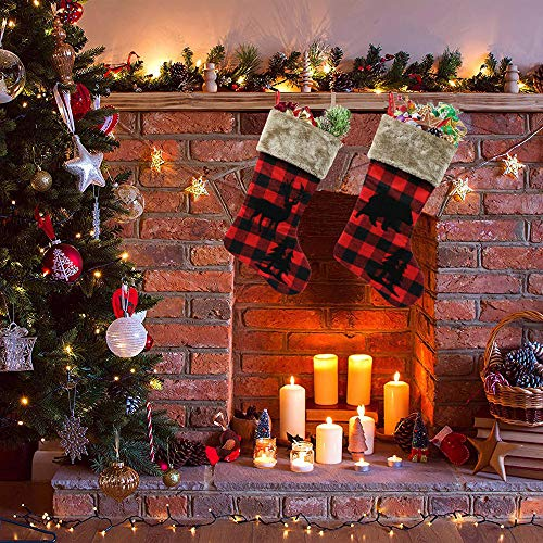XIANGTAI Personalized Christmas Stockings Home Decoration Gifts For Holiday Party Decorations Gift Set Of 2 0 0