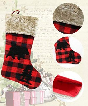 XIANGTAI Personalized Christmas Stockings Home Decoration Gifts For Holiday Party Decorations Gift Set Of 2 0 1 300x360