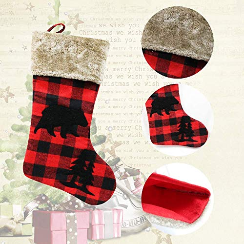 XIANGTAI Personalized Christmas Stockings Home Decoration Gifts For Holiday Party Decorations Gift Set Of 2 0 1