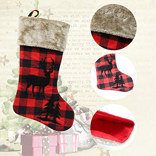 XIANGTAI Personalized Christmas Stockings Home Decoration Gifts For Holiday Party Decorations Gift Set Of 2 0 2