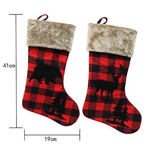 XIANGTAI Personalized Christmas Stockings Home Decoration Gifts For Holiday Party Decorations Gift Set Of 2 0 5