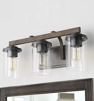 Farmhouse Bathroom Vanity Lighting