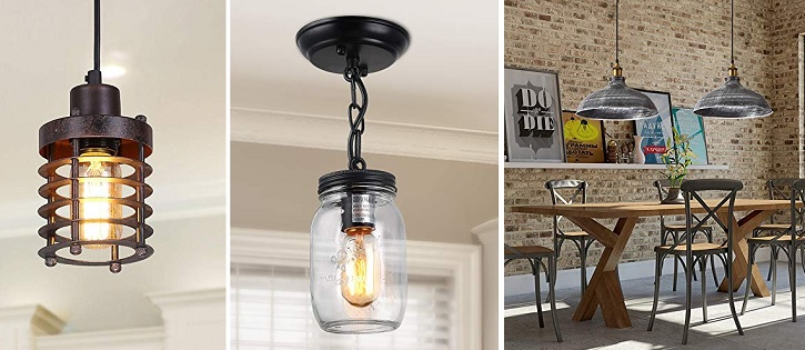 farmhouse pendant lighting