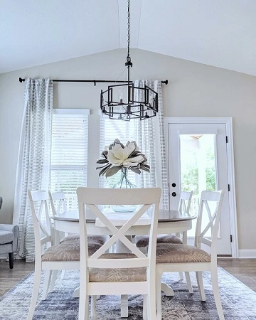 Farmhouse Dining Room Design 2 by Wayfair in Our Customers' Homes