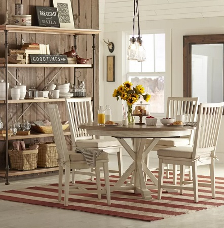 Farmhouse Dining Room Design 4 by Wayfair in Dining Rooms