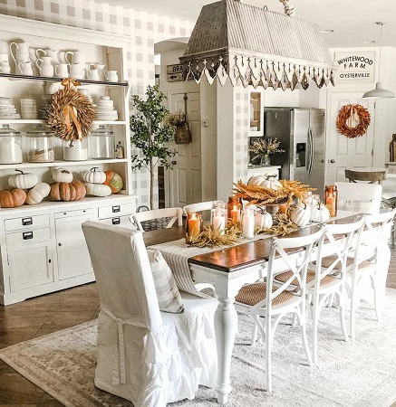 Farmhouse Dining Room Design by @loved_by_lace in #myBirchLane