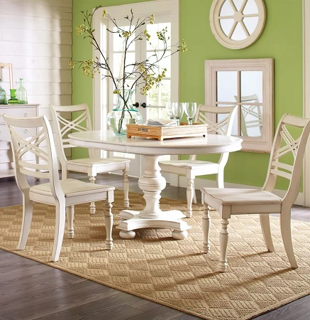 French Country Dining Room Design by Wayfair in Dining Rooms