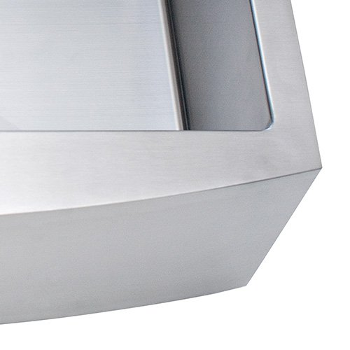 Franke Kinetic 30 Apron Front Farm House Single Bowl Kitchen Sink Stainless Steel 0 1