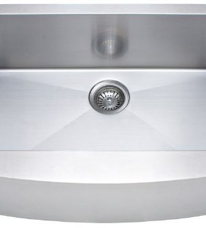 Franke Kinetic 30 Apron Front Farm House Single Bowl Kitchen Sink Stainless Steel 0 300x333
