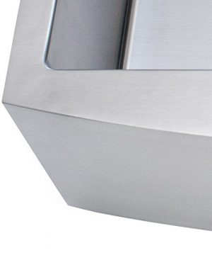 Franke Kinetic 30 Apron Front Farm House Single Bowl Kitchen Sink Stainless Steel 0 4 300x360