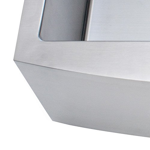 Franke Kinetic 30 Apron Front Farm House Single Bowl Kitchen Sink Stainless Steel 0 4