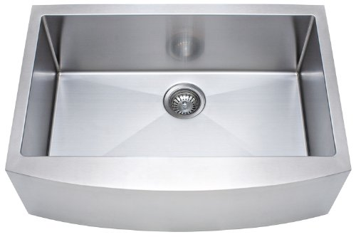 Franke Kinetic 30 Apron Front Farm House Single Bowl Kitchen Sink Stainless Steel 0