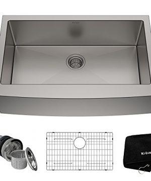 Kraus KHF200 33 Standart PRO Kitchen Stainless Steel Sink 33 Inch 0 300x360