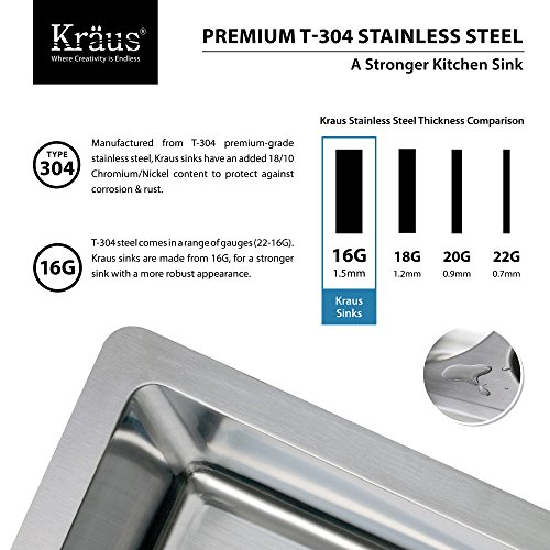 Kraus KHF203 33 KPF1612 KSD30CH 33 Inch Farmhouse Double Bowl Stainless Steel Kitchen Sink With Chrome Kitchen Faucet And Soap Dispenser 0 2