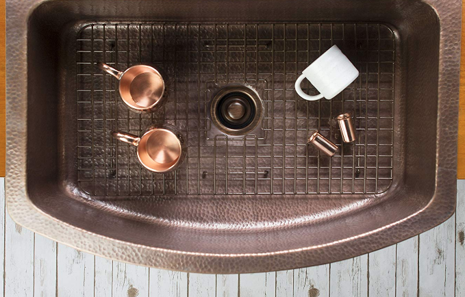 Sinkology Copper Kitchen Sink 33 Inch