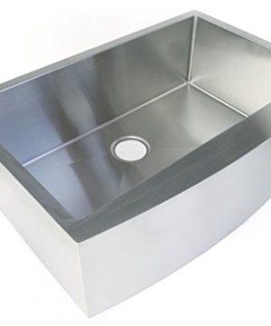 Starstar 35 Inch Undermount Farmhouse Apron Single Bowl 16 Gauge Stainless Steel Kitchen Sink 0 0 300x360